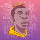 Raster album cover for hip hop - 207743959