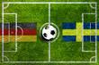 Leinwanddruck Bild - Deutschland spiel Gegen (sudkorea , mexico,schweden)