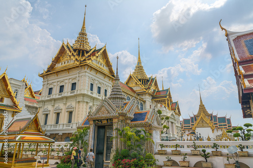 Fotobehang Thailand Wat Phra Kaew, Grand Palace, Bangkok