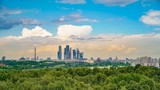 Timelapse of Moscow city at summer day - 207756131