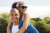 Young african couple in love - 207758765