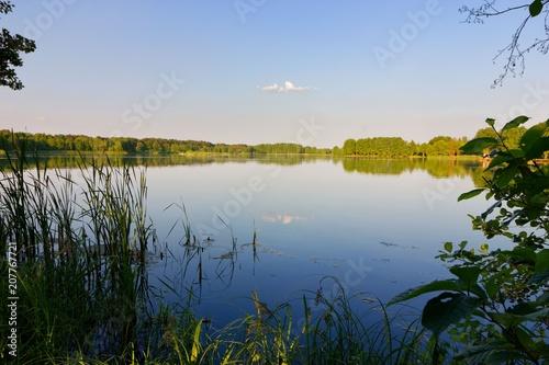 Aluminium Zomer Lake during sunny day