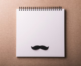 Fathers day greeting card concept. Flat lay. Copy space. - 207772306