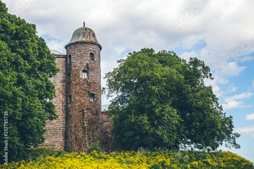 the tower of an ancient castle in Vyborg © fedorovekb