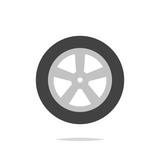 Car wheel vector isolated - 207787553