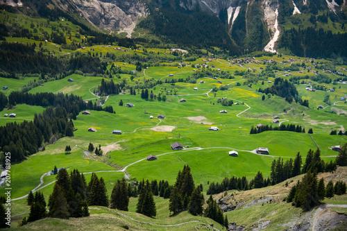 Beautiful Landscape of Grindelwald , Switzerland