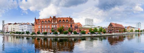Zdjęcia na płótnie, fototapety na wymiar, obrazy na ścianę : Panoramic cityscape of Bydgoszcz, Poland