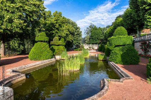 Le parc Mignot à Annonay
