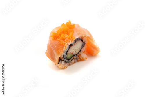 Aluminium Sushi bar japan traditional sushi on isloted white background