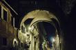 Trastevere District Night Scene