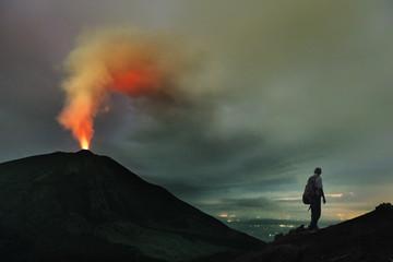 El Volcán Pacaya, Guatemala, Mayo 2018 © Ingo Bartussek