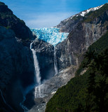 Hanging Glacier in the Quelat National Park, Patagonia, Chile