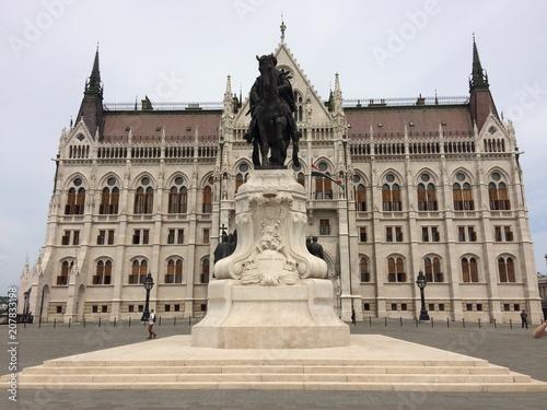 Fotobehang Boedapest parlamento di Budapest