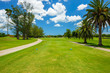 Leinwanddruck Bild - South Florida Golf Course