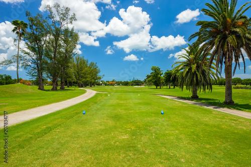 Leinwanddruck Bild South Florida Golf Course