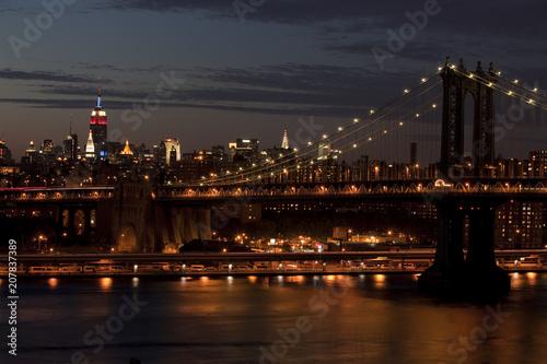 Aluminium Brooklyn Bridge Bridge to the Big Apple