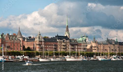 Fotobehang Stockholm View of Gamla Stan (Old Town) in Stockholm, Sweden