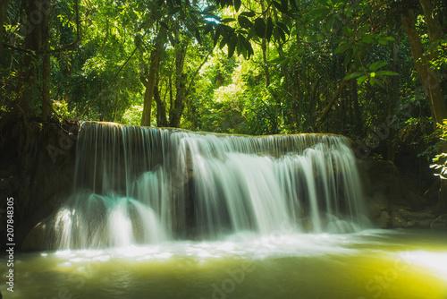 Huai Mae Khamin Waterfall.Thailand. - 207848305