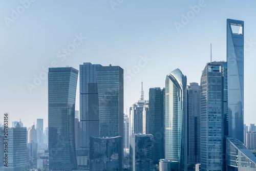 Fotobehang Shanghai modern architecture in shanghai