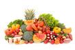 Leinwanddruck Bild - assorted fruit and vegetable
