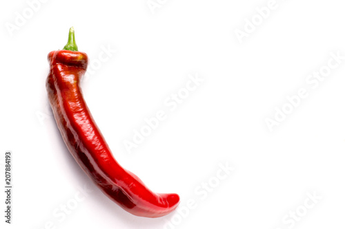 Fotobehang Palermo Red organic snack pepper, bellpepper