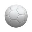 Weißer Fußball - 207887359