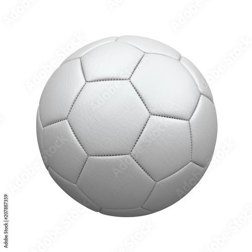 Fridge magnet Weißer Fußball