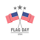 Vector illustration of a background for Happy Flag Day. - 207908712