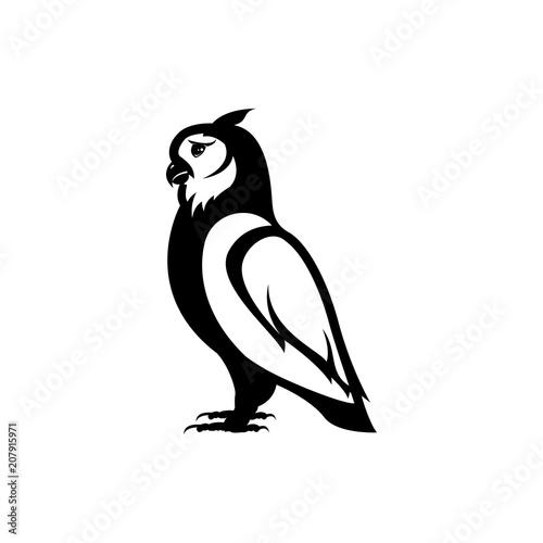Aluminium Uilen cartoon owl