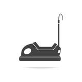 Bumper car icon vector isolated - 207925584