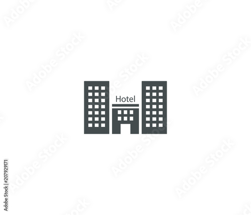 Resident hotel icon - 207929171