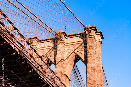 Aluminium New York Brooklyn bridge New york city