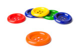 Multicolored buttons - 207937529