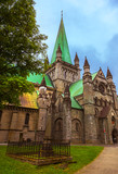 Cathedral in Trondheim Norway - 207937591