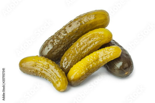 Leinwanddruck Bild Pickles cucumber