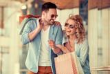 Loving couple shopping - 207946556