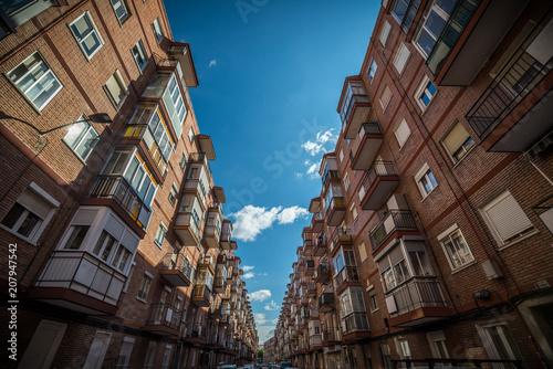 Foto Murales Valladolid, ciudad histórica y cultural, España.