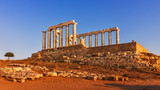 The Temple of the god Poseidon - Cape Sounion - Greece