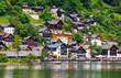 Hallstatt, Austria. View to Hallstattersee Lake and Alps - 207958923