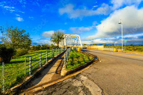 Fotobehang Bruggen Vintage Llano Bridge Texas