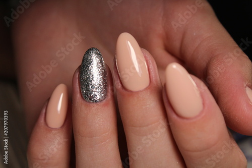 Fotobehang Manicure stylish design of manicure