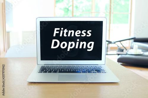 Plexiglas Fitness Fitness & Doping