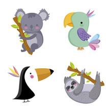 Wild Animals Sticker