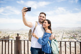Couple in love clicking a selfie - 207974387