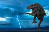 t-rex in the wild world storm