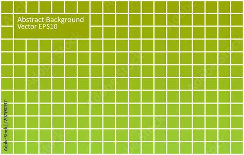Fotobehang Abstractie Art Green tiles abstract background