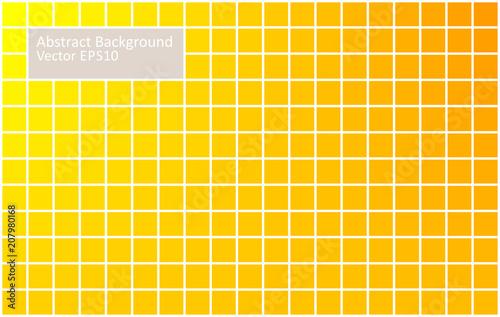 Fotobehang Abstractie Art Yellow tiles abstract background
