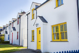 Colorful houses in Cashel, Ireland - 207987706