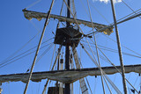 Tall ship mast and rigging - 207995707