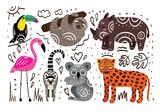 Jungle animals - 207997528